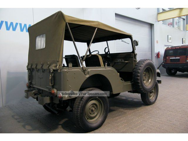 1958 jeep willys overland m38 a 1 only 820 pieces. Black Bedroom Furniture Sets. Home Design Ideas