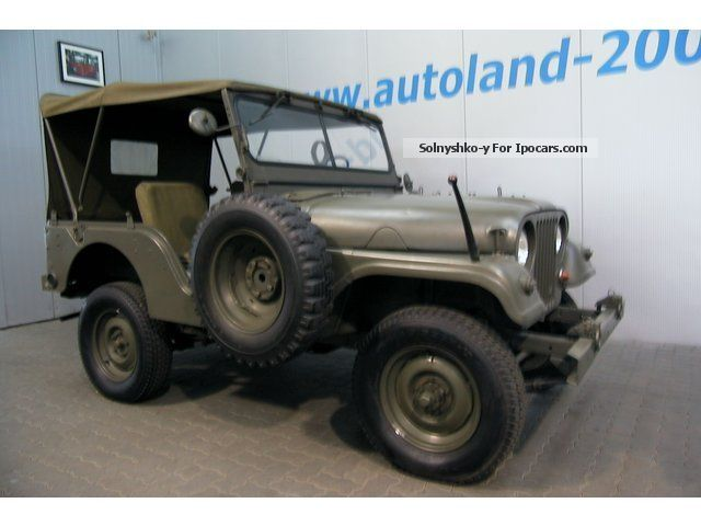 Jeep  Willys Overland M38 A-1 only 820 pieces 1AWertanla 1958 Vintage, Classic and Old Cars photo