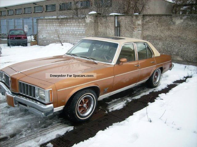 1978 Pontiac  Phoenix 5.0 V8 Fahrbereit Odtimer Showcar Saloon Used vehicle photo