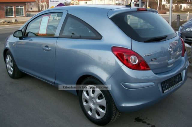 2012 opel corsa 1 3 cdti ecoflex business navi car. Black Bedroom Furniture Sets. Home Design Ideas