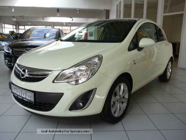 2012 opel corsa 1 4 16v 150 years car photo and specs. Black Bedroom Furniture Sets. Home Design Ideas