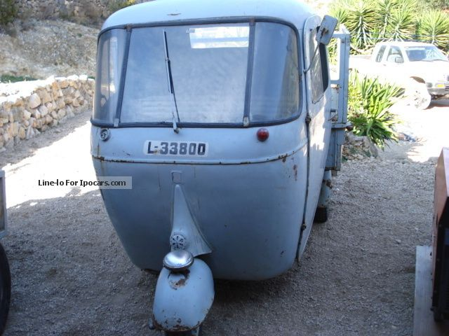 Piaggio  APE 1963 Vintage, Classic and Old Cars photo