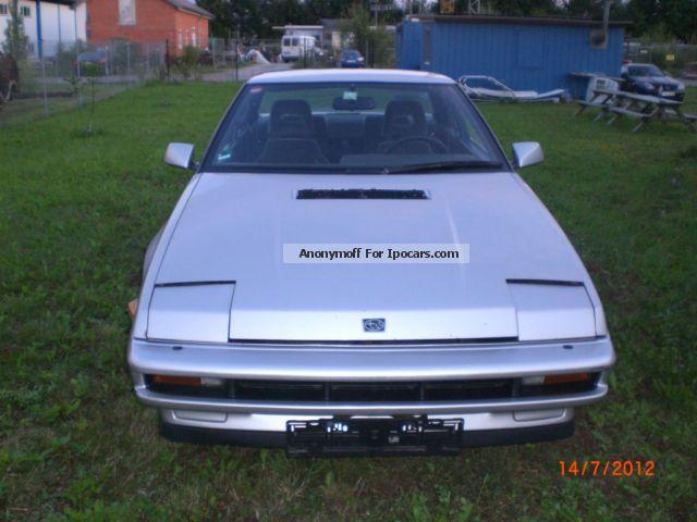 Wonderful 1990 Subaru Impreza 4 Sports Car/Coupe Used Vehicle Photo ...