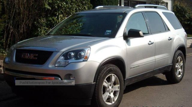2008 gmc acadia car photo and specs. Black Bedroom Furniture Sets. Home Design Ideas