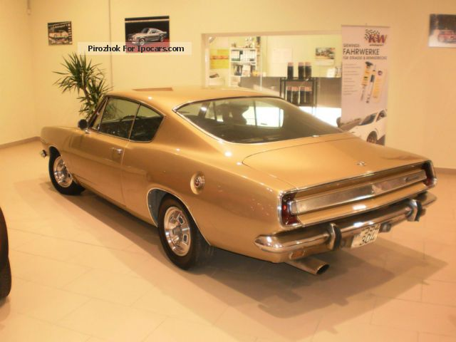Plymouth  Barracuda Fastback S 1967 Vintage, Classic and Old Cars photo