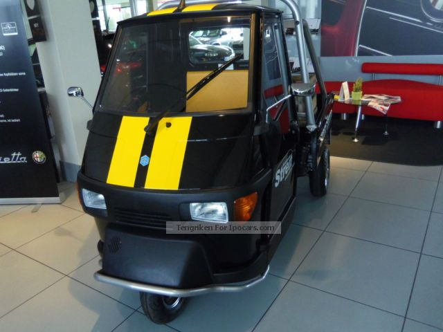2013 Piaggio  APE 50 Cross Country Pick \ Other Demonstration Vehicle photo