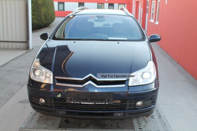 2005 citroen c5 kombi hdi 135 auto exclusive car photo and specs. Black Bedroom Furniture Sets. Home Design Ideas