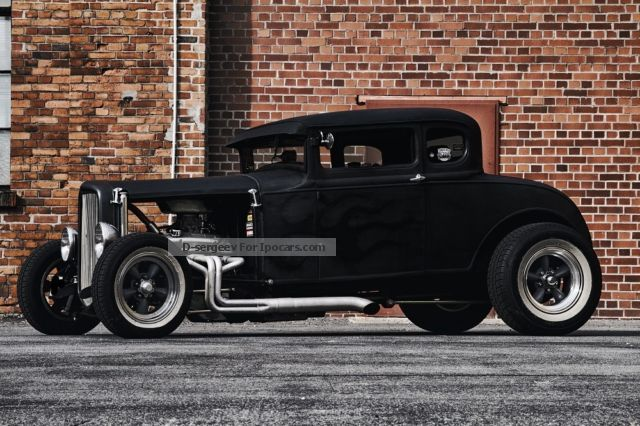 Other  Other Ford Model A V8 Coupe Hot Rod 1930 Vintage, Classic and Old Cars photo