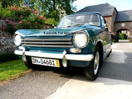 1968 Triumph  Herald 13/60 - LHD - Unrestored Saloon Classic Vehicle photo