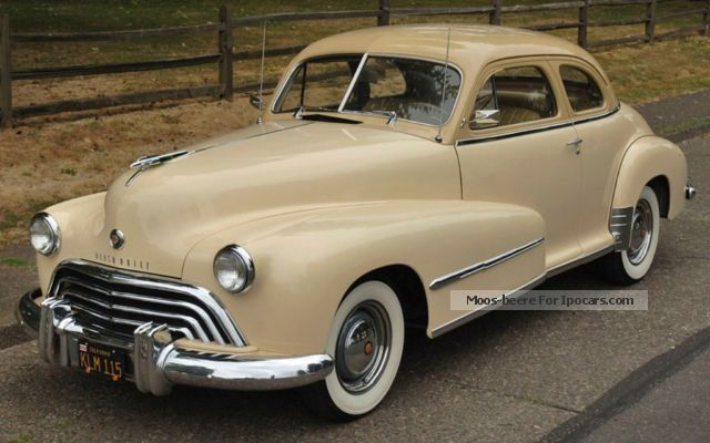 Oldsmobile  Dynamic Coupe Club 66 de 1948 1948 Vintage, Classic and Old Cars photo