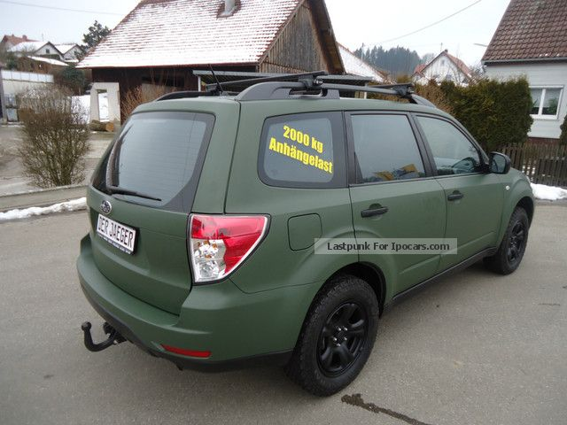 2012 subaru forester 2 0x militray green special model. Black Bedroom Furniture Sets. Home Design Ideas