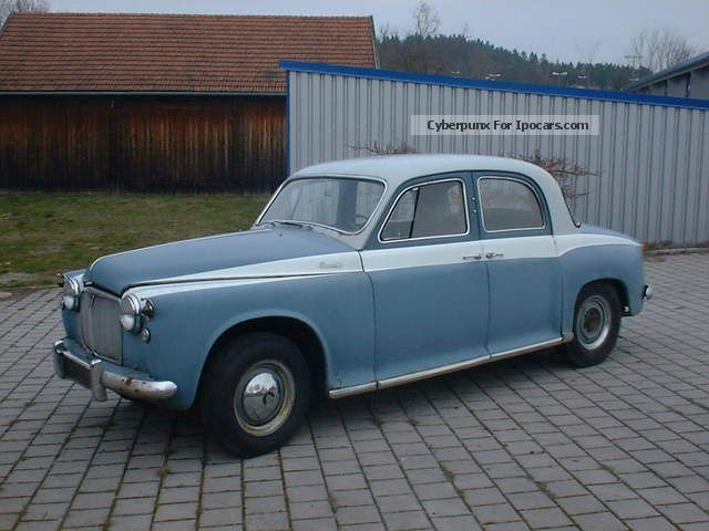 Rover  P 90 LHD 1961 Vintage, Classic and Old Cars photo