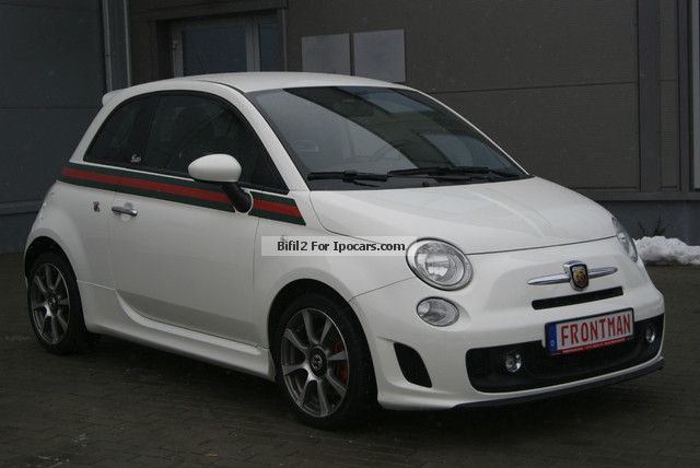 2012 Abarth  1.4 T-Jet turbo Gucci design Small Car Used vehicle photo