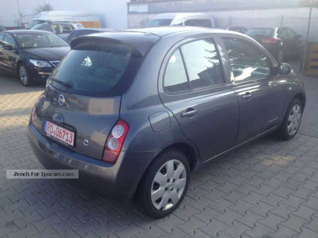 2003 nissan micra 1 4 acenta key les car photo and specs. Black Bedroom Furniture Sets. Home Design Ideas