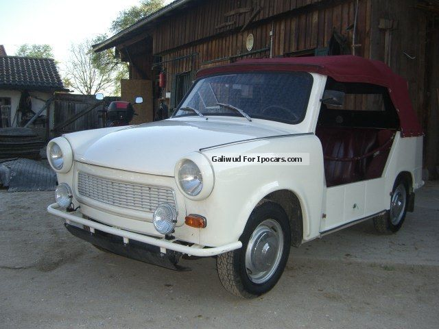 1977 Trabant  P 601 A bucket *** *** Cabriolet / Roadster Used vehicle photo