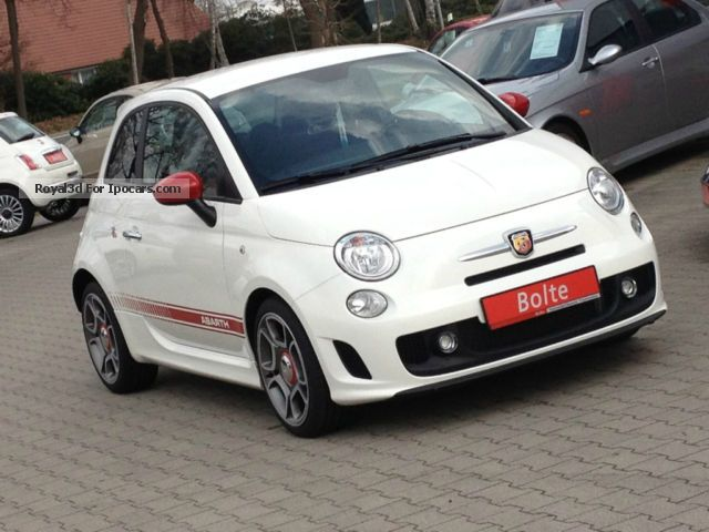 2013 Abarth  500 Klimaautom ATIK LM17 \ Sports Car/Coupe Pre-Registration photo