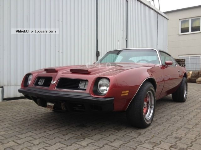 Pontiac  FORMULA 400, 6.6 l, H-mark TUV in 2015 1975 Vintage, Classic and Old Cars photo