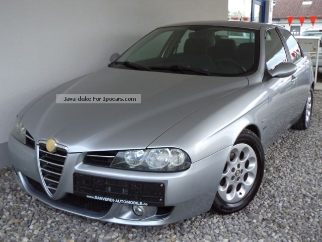 2004 Alfa Romeo  156 2.4 JTDM 175PS 88000km ** SPORT PACKAGE ** NAV = 6Gang Saloon Used vehicle photo