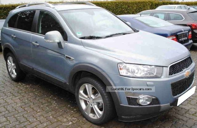2012 Chevrolet  Captiva 2.2 Diesel Automatic 4WD LTZ Off-road Vehicle/Pickup Truck Used vehicle photo