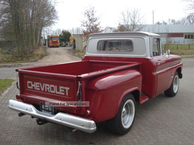 1963 chevrolet truck specs
