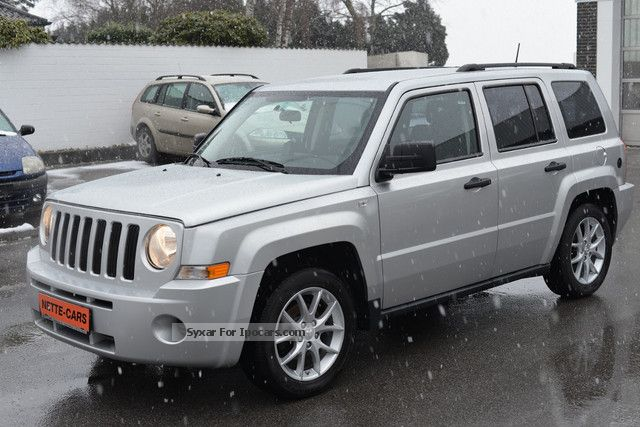 Jeep  Patriot 2.4 Sport 4x4 NAVI SYSTEM GAS! 2008 Liquefied Petroleum Gas Cars (LPG, GPL, propane) photo