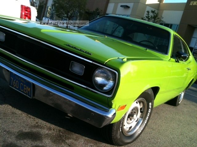 Plymouth  Duster 1971 Vintage, Classic and Old Cars photo