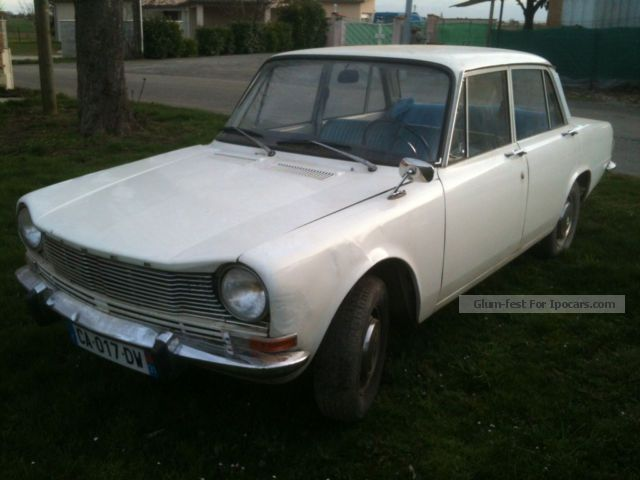 Talbot  SIMCA 1301 GL French TUV, many new parts, from 2.HD 1969 Vintage, Classic and Old Cars photo