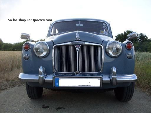 Rover  95 P4 1963 Vintage, Classic and Old Cars photo