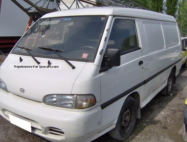 1999 Hyundai  2.5 diesel Autocarro Van / Minibus Used vehicle photo