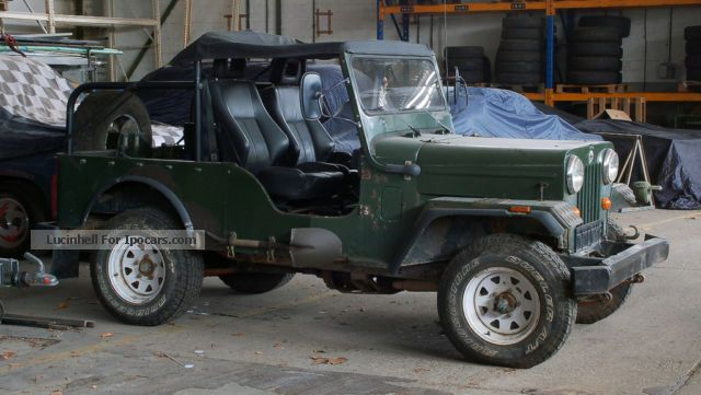 1994 Mahindra  CJ 540 diesel 47kW 57Tkm 5/1994 4/2014 Off-road Vehicle/Pickup Truck Used vehicle photo