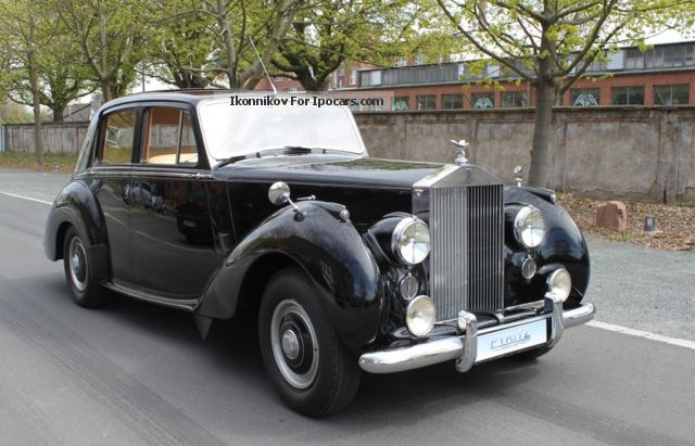 Rolls Royce  Silver Dawn 1954 Vintage, Classic and Old Cars photo