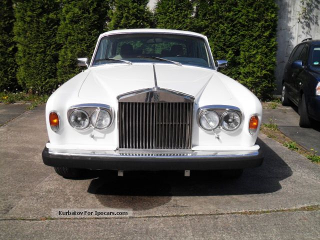 1982 Rolls Royce  Silver Shadow II from 2.hand Saloon Used vehicle photo