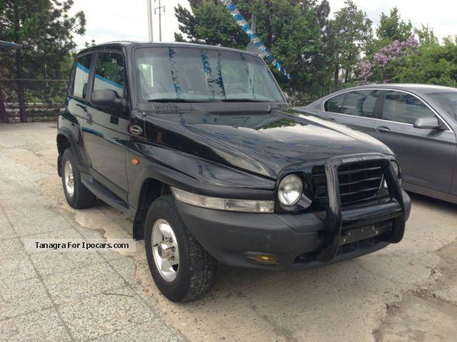 ssangyong korando 2 car - photo #8