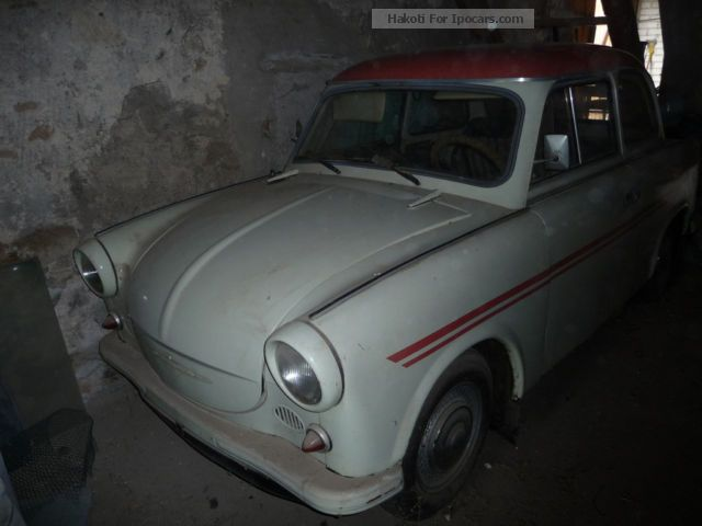Trabant  Other 1963 Vintage, Classic and Old Cars photo