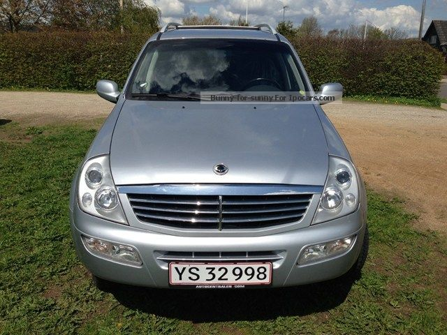 2007 Ssangyong  Freedom Rexton 2.3 i Manual Gearbox / Camper Other Used vehicle photo