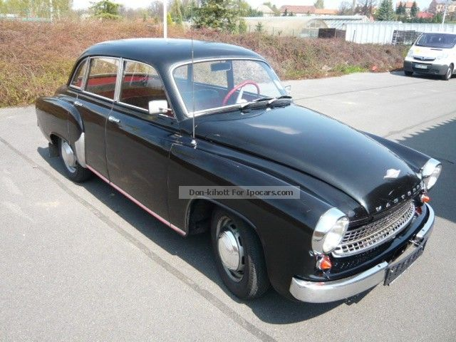 Wartburg  Sedan in good original condition and fully fahrb 1959 Vintage, Classic and Old Cars photo