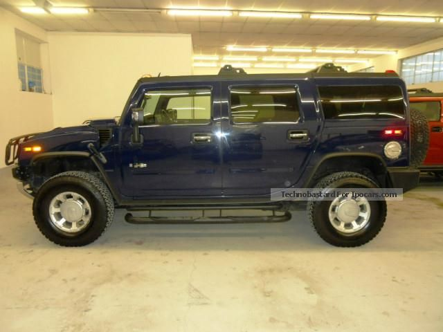 2009 Hummer  H2 6.2 V8 Luxury GPL guidabile a con patente B Off-road Vehicle/Pickup Truck Used vehicle photo