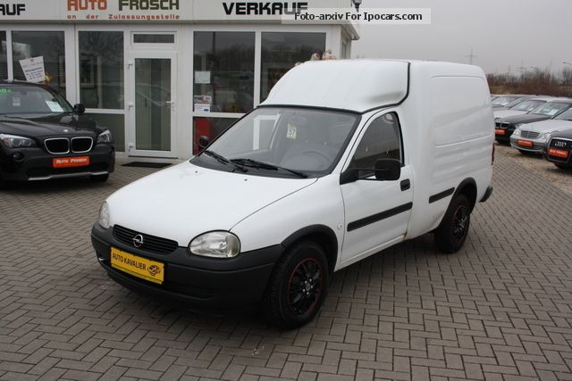 2001 Opel  1.7D Combo B truck financing approval possibl Estate Car Used vehicle photo