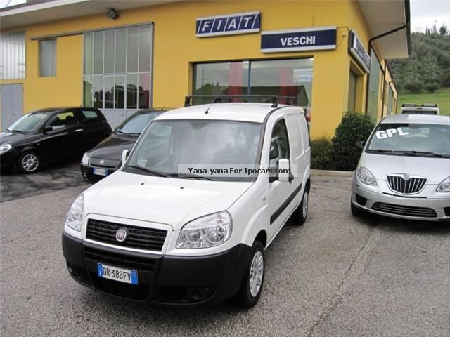 Fiat  Doblo CARGO SX NAT.POWER 2008 Compressed Natural Gas Cars (CNG, methane, CH4) photo