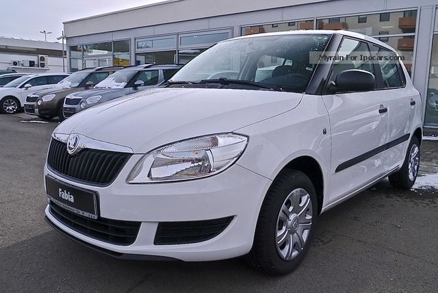 2012 Skoda  Fabia 1.2 HTP COOL EDITION, CENTRAL AIR CD Saloon New vehicle photo