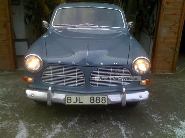 Volvo  Amazon 1963 Vintage, Classic and Old Cars photo