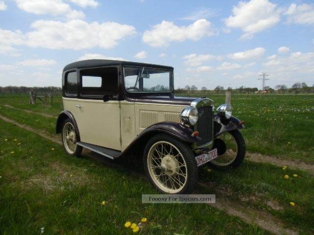 Austin  Seven Box Saloon 1930 Vintage, Classic and Old Cars photo
