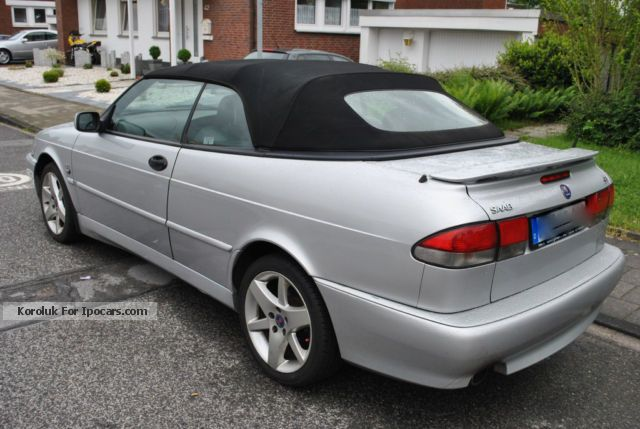 2001 saab 9 3 aero convertible turbo car photo and specs. Black Bedroom Furniture Sets. Home Design Ideas