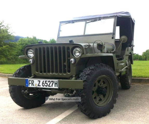 Jeep  fully restored and newly painted M201 1958 Vintage, Classic and Old Cars photo