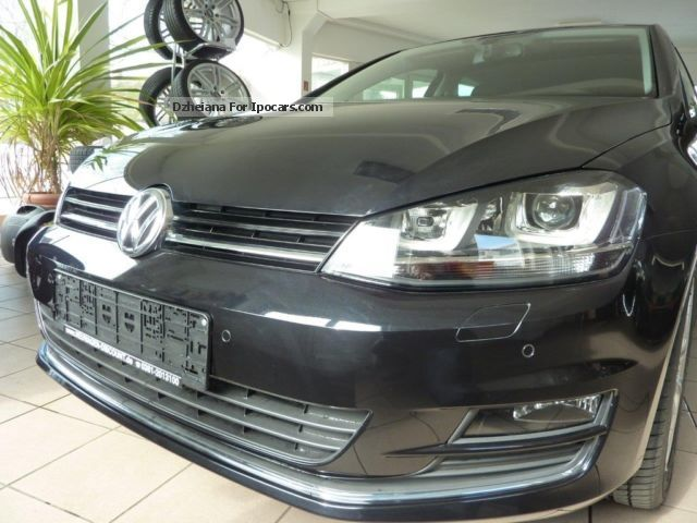 2012 Volkswagen  7 Golf BlueMotion T. Highline, 1.4 TSI DSG 140HP Saloon New vehicle photo