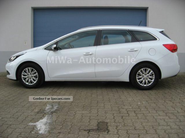 2012 Kia  cee'd_sw, Dream Team, Vision Rückfahrk., partial leather Estate Car New vehicle photo