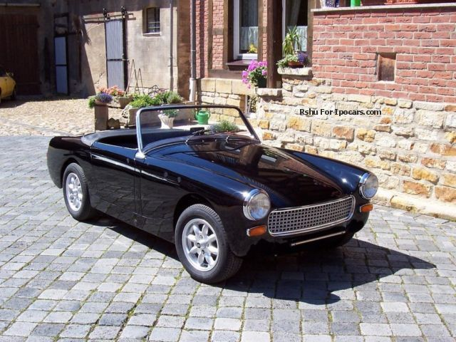 Austin Healey  Sprite MK II 1963 Vintage, Classic and Old Cars photo