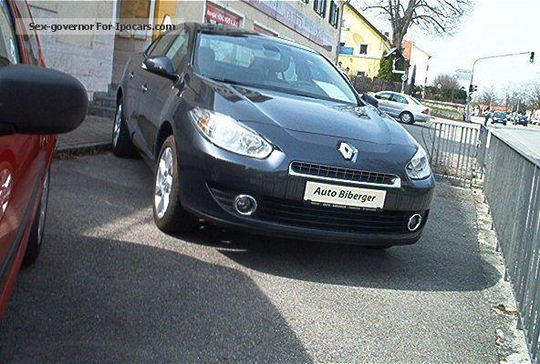 2011 Renault  Megane / Fluence Dynamique 1.6 110 Saloon Used vehicle photo