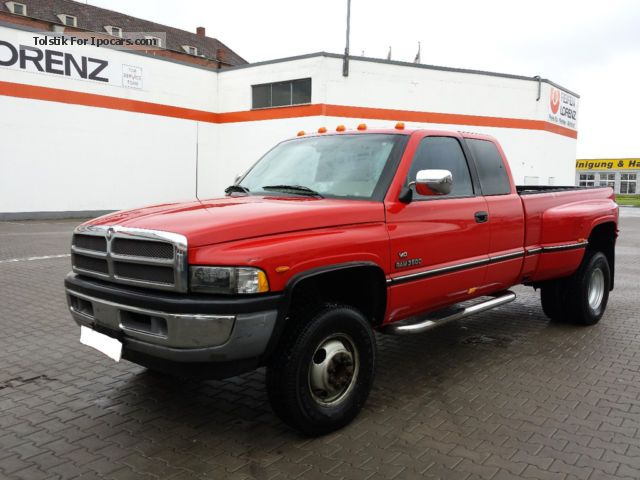 Dodge  Ram 3500 Dually 4X4 V10 8l LPG 6Sitzer Long Bed 1995 Liquefied Petroleum Gas Cars (LPG, GPL, propane) photo