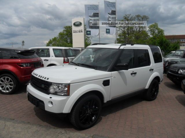 2012 Land Rover  SDV6 Discovery 3.0 HSE Black \u0026 White 7 seater Off-road Vehicle/Pickup Truck New vehicle photo
